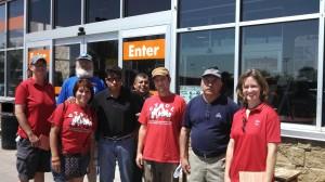 Home Depot delegation