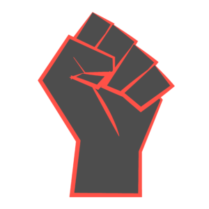 An illustration of a fist